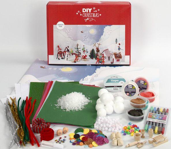 Silk Clay Kerstlandschap