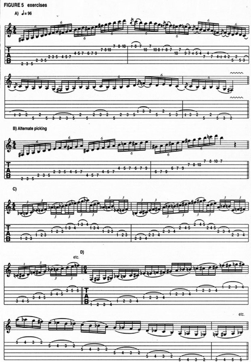 Randy Rhoads Warmup Exercises And More Complete 1982 Guitar Clinic