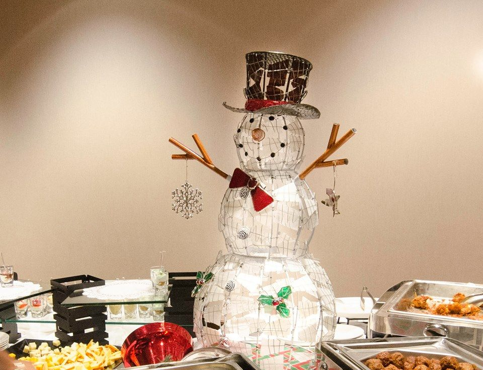 Holiday Catering Setup