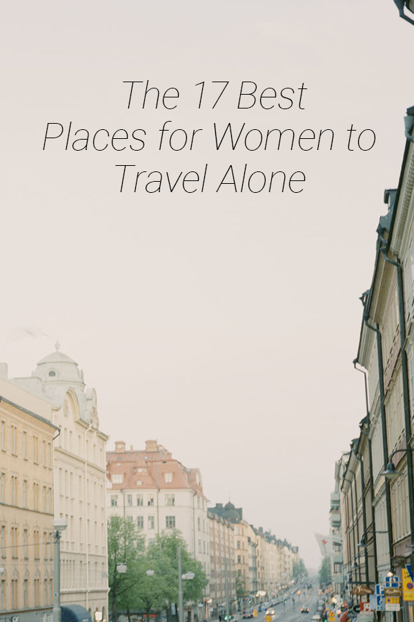 17 Best Places for Women to Travel Solo - The beauty of solo travel is the ability to immerse yourself in the community and to stumble upon those moments of international connection organically on your own. #SoloTravel #TravelAlone #Travel2019 | Travel + Leisure - The Best Places for Women to Travel Solo