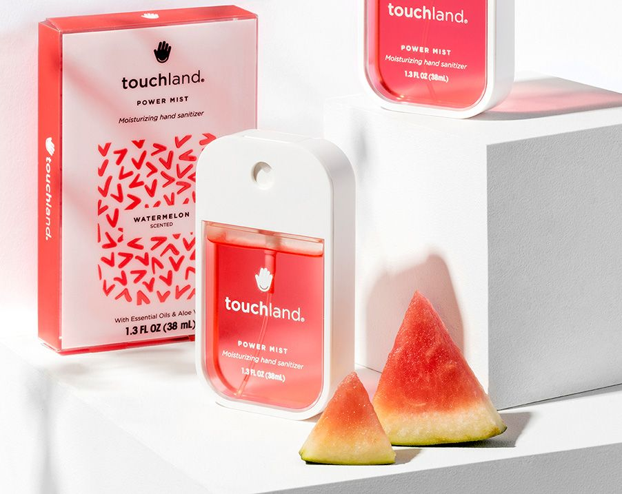 Touchland Hand Sanitizer Travel Size Products Traveling By