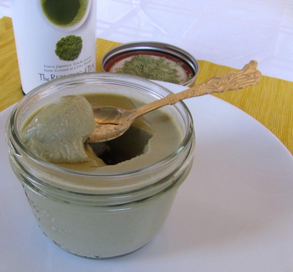 Maple & Ginger Green Tea Panna Cotta