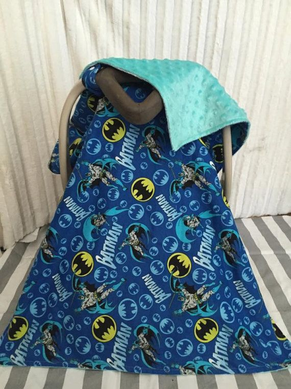 Batman Car Seat Canopy Cover by SewSweeterBaby on Etsy & Batman Car Seat Canopy Cover by SewSweeterBaby on Etsy | Car Seat ...