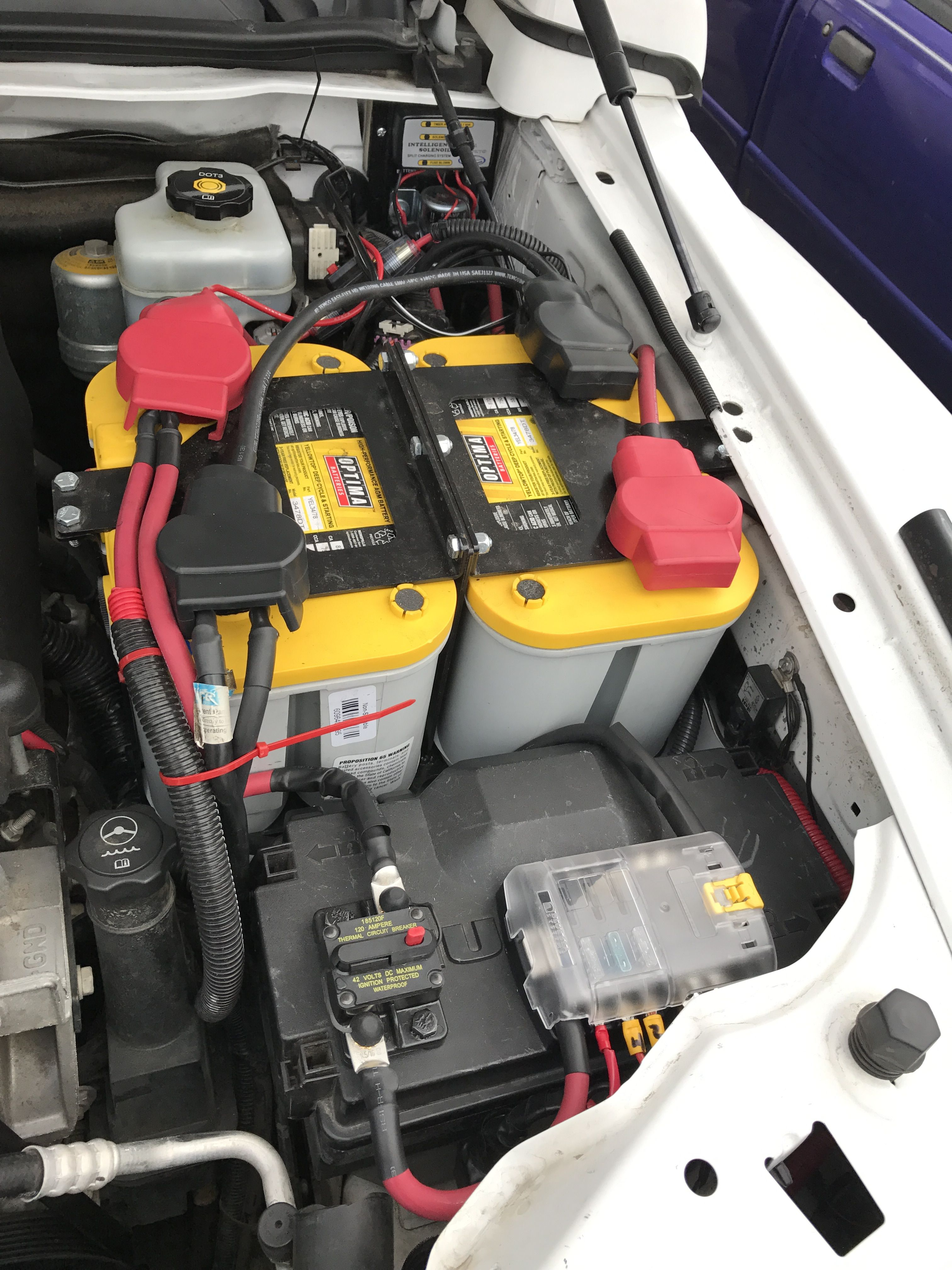 Hummer H3 Dual Battery System  National Luna Dual Battery