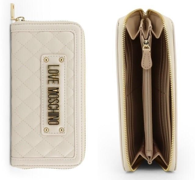 40bb2336864d Love Moschino White Quilted Leather Continental Wallet. Love moschino white  bag. Love moschino white wallet. White wallet for women. White wallets  designer.
