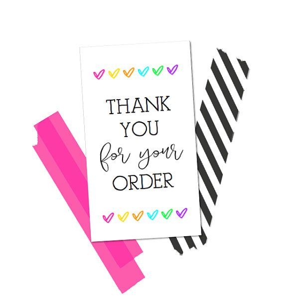 instant download makers thank you card 3 5x2 business cards 10