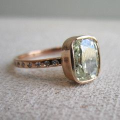 Custom Made Cushion Cut