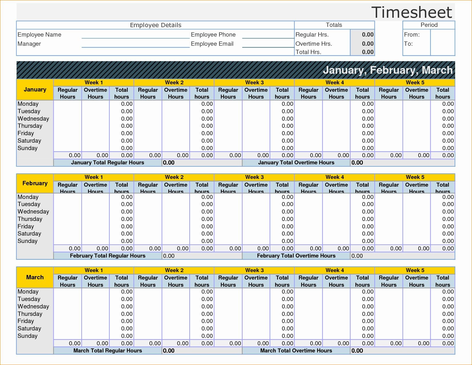 Unique Timecard Template Excel Sales Template Timesheet