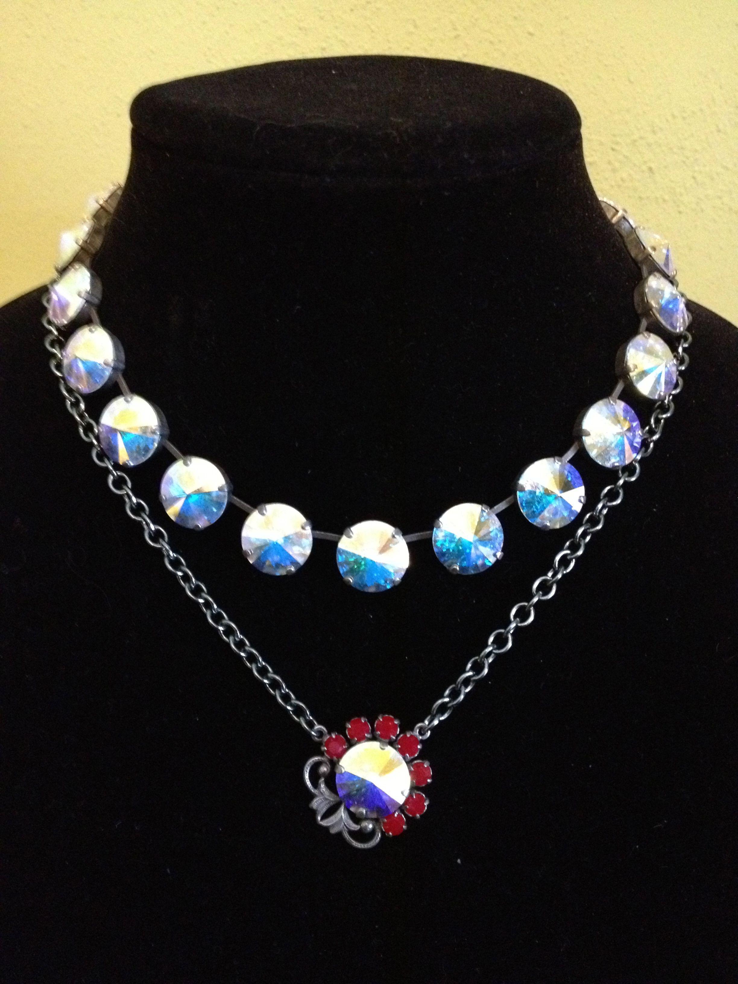 Sabika look necklace - Sabika W11 Anniversary Vienna Choker S13 Pearlized Flower Choker