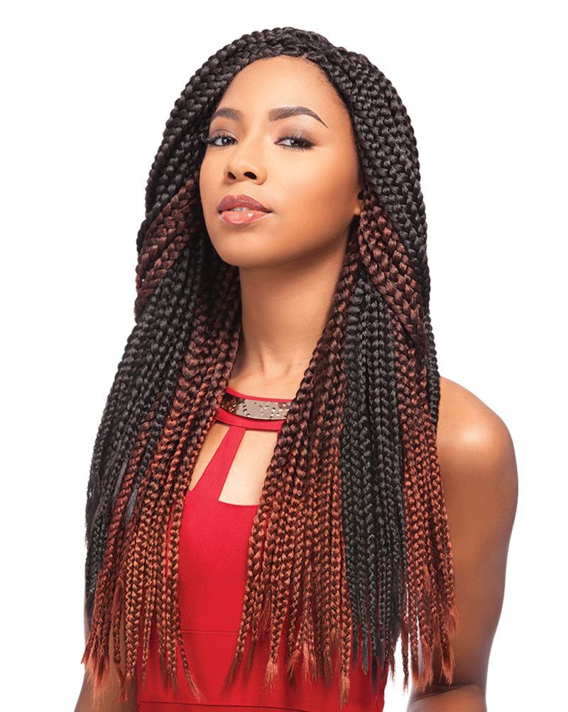 Sensationnel african collection crochet braid senegal box braid