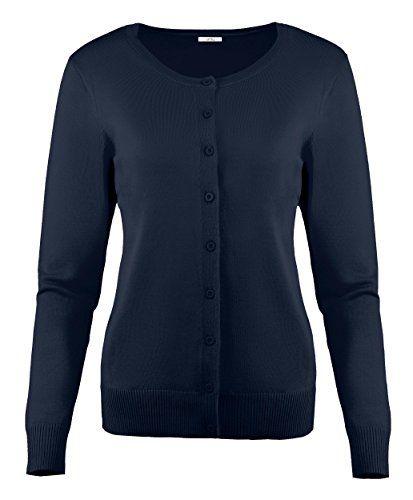 Simlu Womens Cardigan Sweaters Button Down Long Sleeve Ro Https