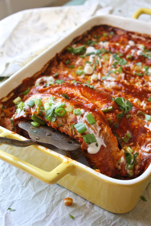 skinny vegetarian enchiladas these mouthwatering enchiladas are