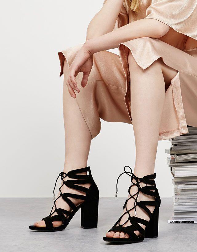 Ver Todo - MUJER - ZAPATOS - Bershka Mexico   Shoes   Pinterest