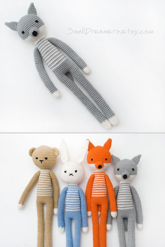 Hey, I found this really awesome Etsy listing at https://www.etsy.com/listing/268162001/wolf-toy-handmade-toy-crochet-grey-wolf