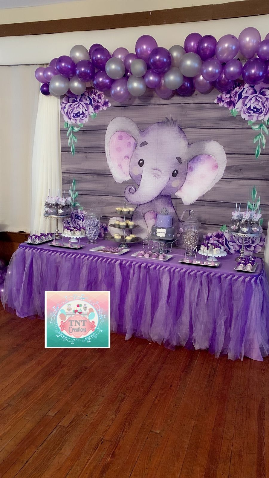 Purple Baby Shower Themes For Girls : purple, shower, themes, girls, Elephant, Babyshower, Shower, Purple,, Themes,, Theme