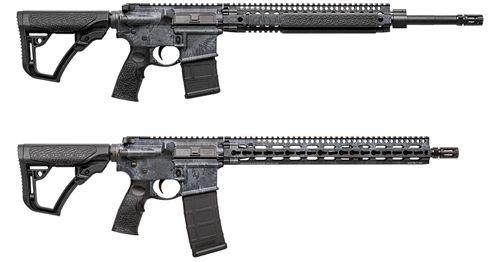 Daniel Defense Adds Kryptek Typhon Finish to DDM4 MK12 & V11 Rifles