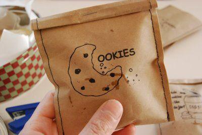 Mushy: Printable Cookie Bags