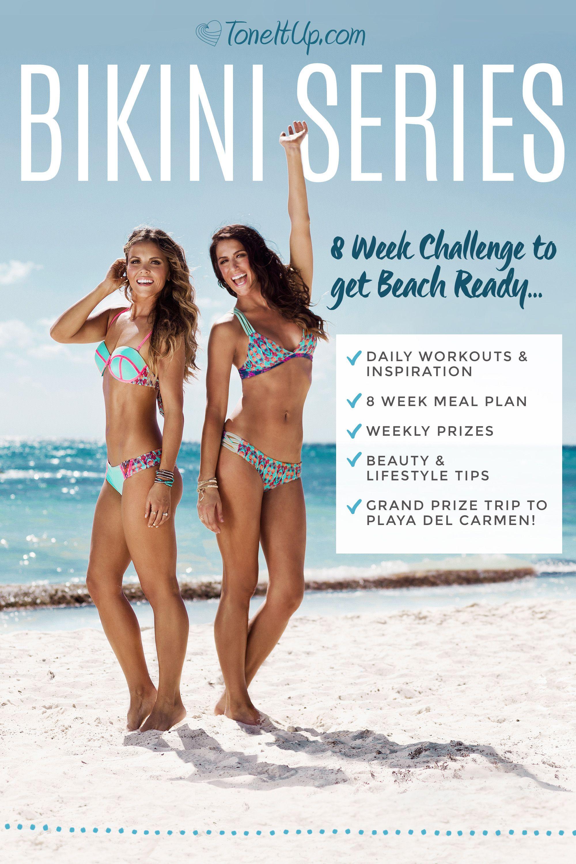 Come behind the scenes of the bikini series u summer tone up