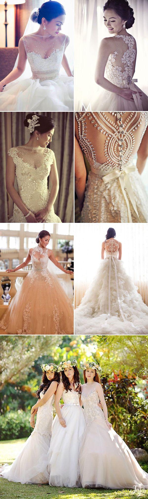 Top 10 Filipino Wedding Dress Designers We Love | Hochzeitskleider