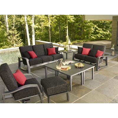 Telescope Casual Momentum Deep Seating Group with Cushions