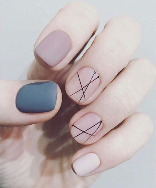 Fantastic Prom Nail Art Designs to Look Best on Parties   Styles Beat    Pastel nails designs, Minimalist nail art, Green nails