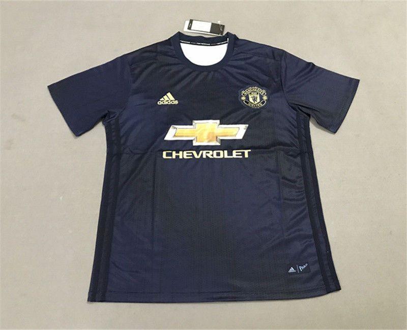 65fc4e947d7 ... 16 17 soccer jersey aa5ae c6d50; where can i buy manchester united 18  19 away blue soccer jersey shirt pogba 6 fashion
