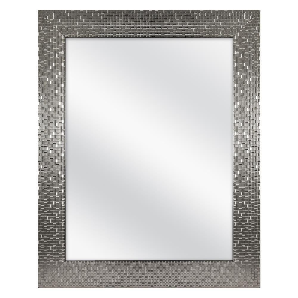 Home Decorators Collection 24 In W X 30 In H Fog Free Framed Recessed Or Surface Mount Bathroom Medicine Cabinet In Brushed Nickel 45427 With Images Free Frames Home Decorators Collection Mirror