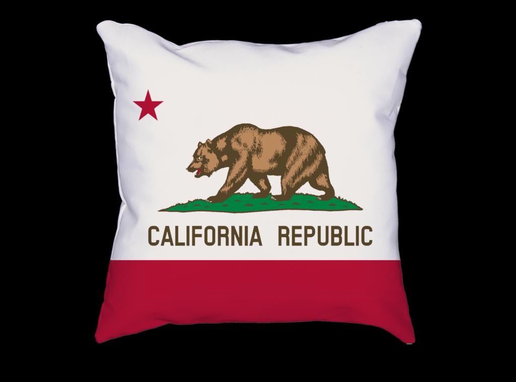 California Republic State Flag Pillow Banderas Del Mundo Banderas Eres Mi Sol