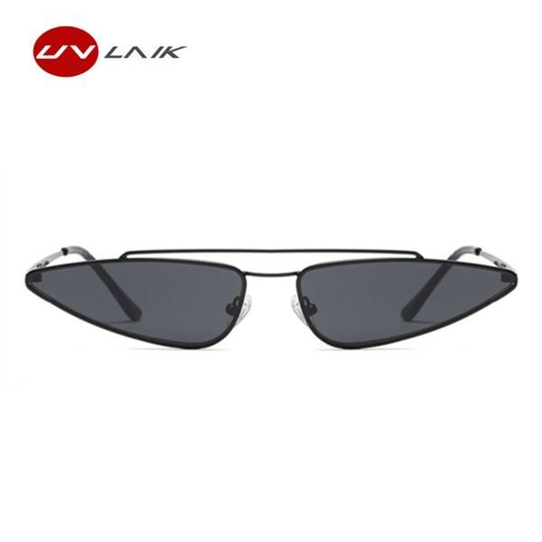 UVLAIK 2018 New Ladies Cat Eye Sunglasses Women Brand Designer Small ...
