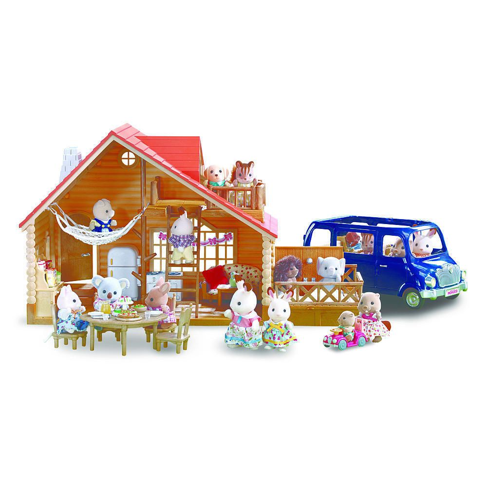 Calico Critters Lakeside Lodge Gift Set | Confidence, Gift and eBay