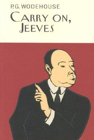 Carry on, Jeeves is just one of the many great books written by P.G. Wodehouse. They are delightfully nostalgic and extremely witty in that British way that most people seem to love. These Overlook Press editions call to me like a siren...