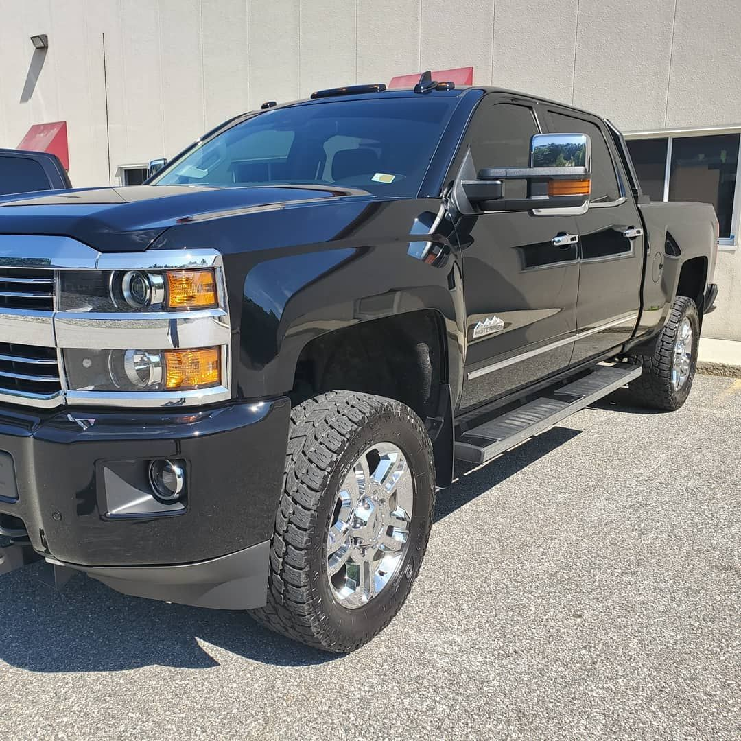 Silverado High Country 2 Stage Paint Correction finished