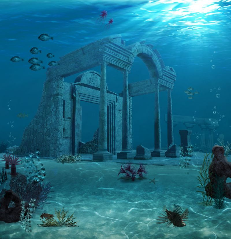 British Company Could Have Found Atlantis In Modern Day Spain Underwater City Ancient Atlantis Lost City Of Atlantis