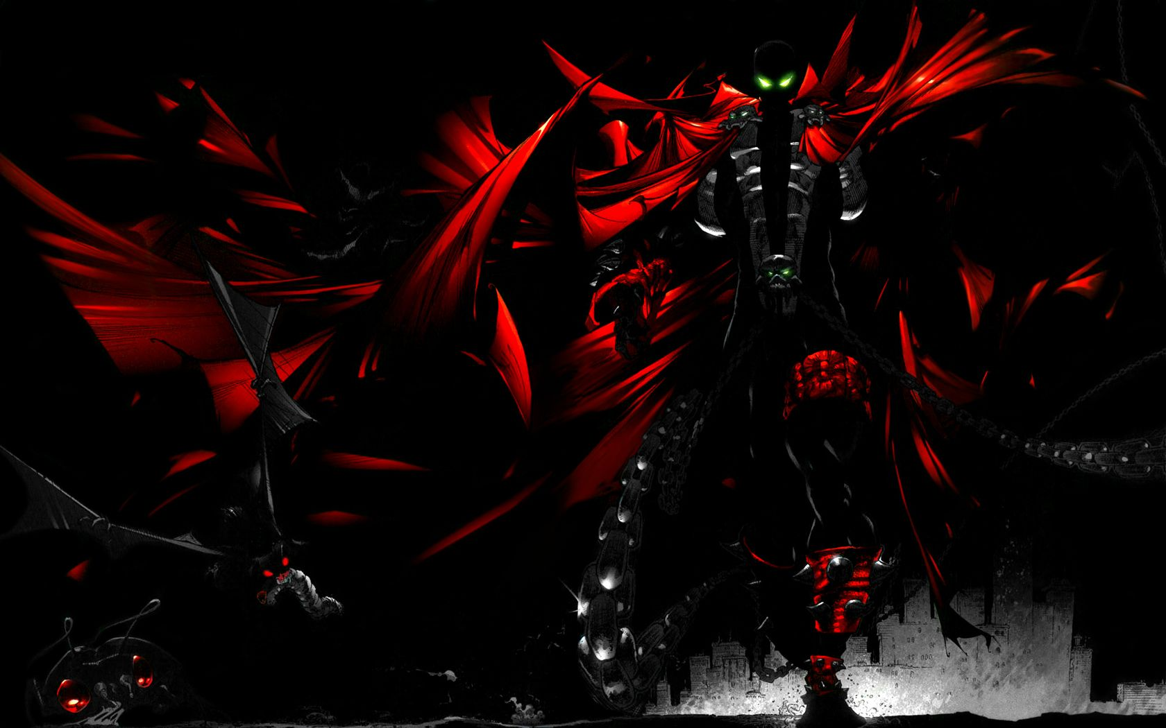 spawn wallpaper - Google Search