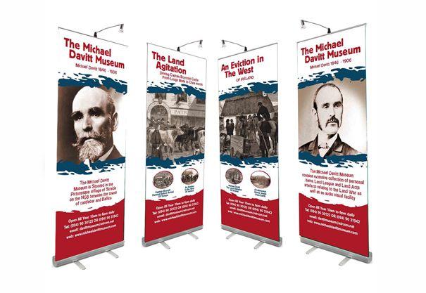 The Michael Davitt Museum , Pull Up Banner, Roll up Banner Design ...