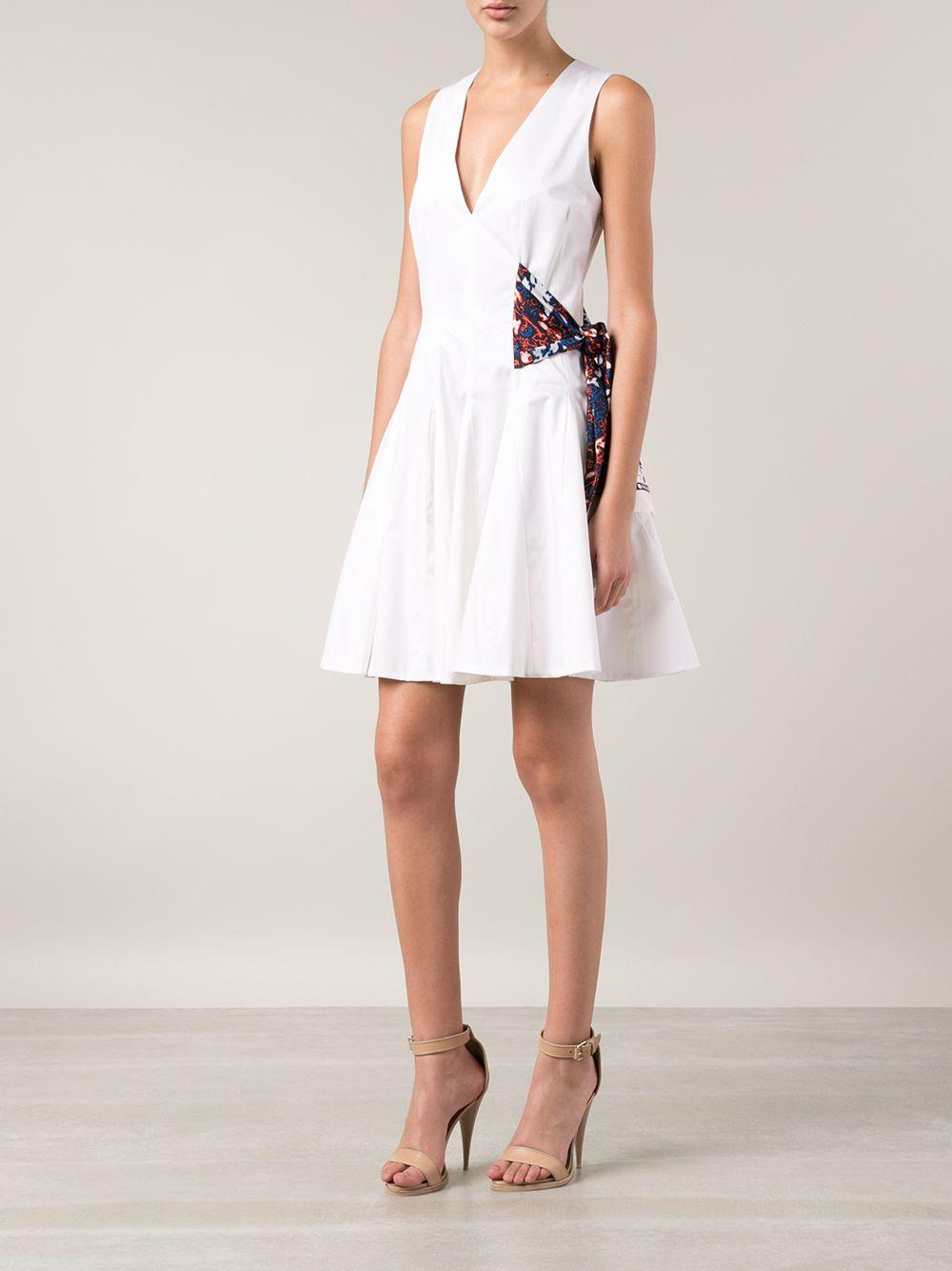 Side Tie Dress