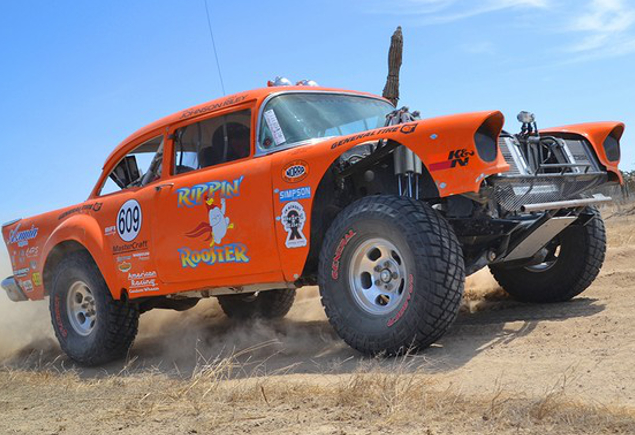 Norra 1000 Jim Riley Rippin Rooster 55 Chevy 57 Chevy Bel Air