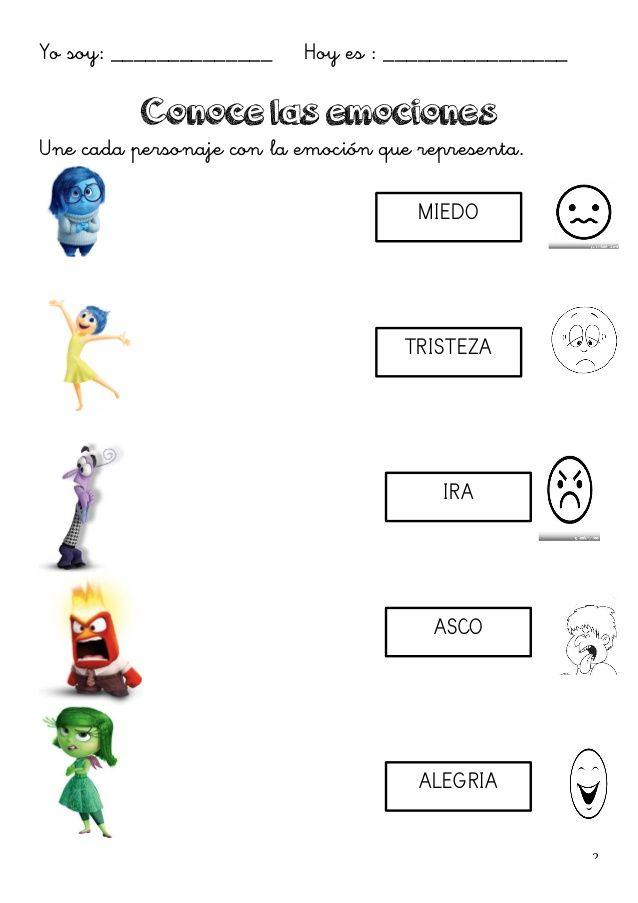 Emociones inside out yayita Pinterest Emociones, Emocional y - new tabla periodica en memorama