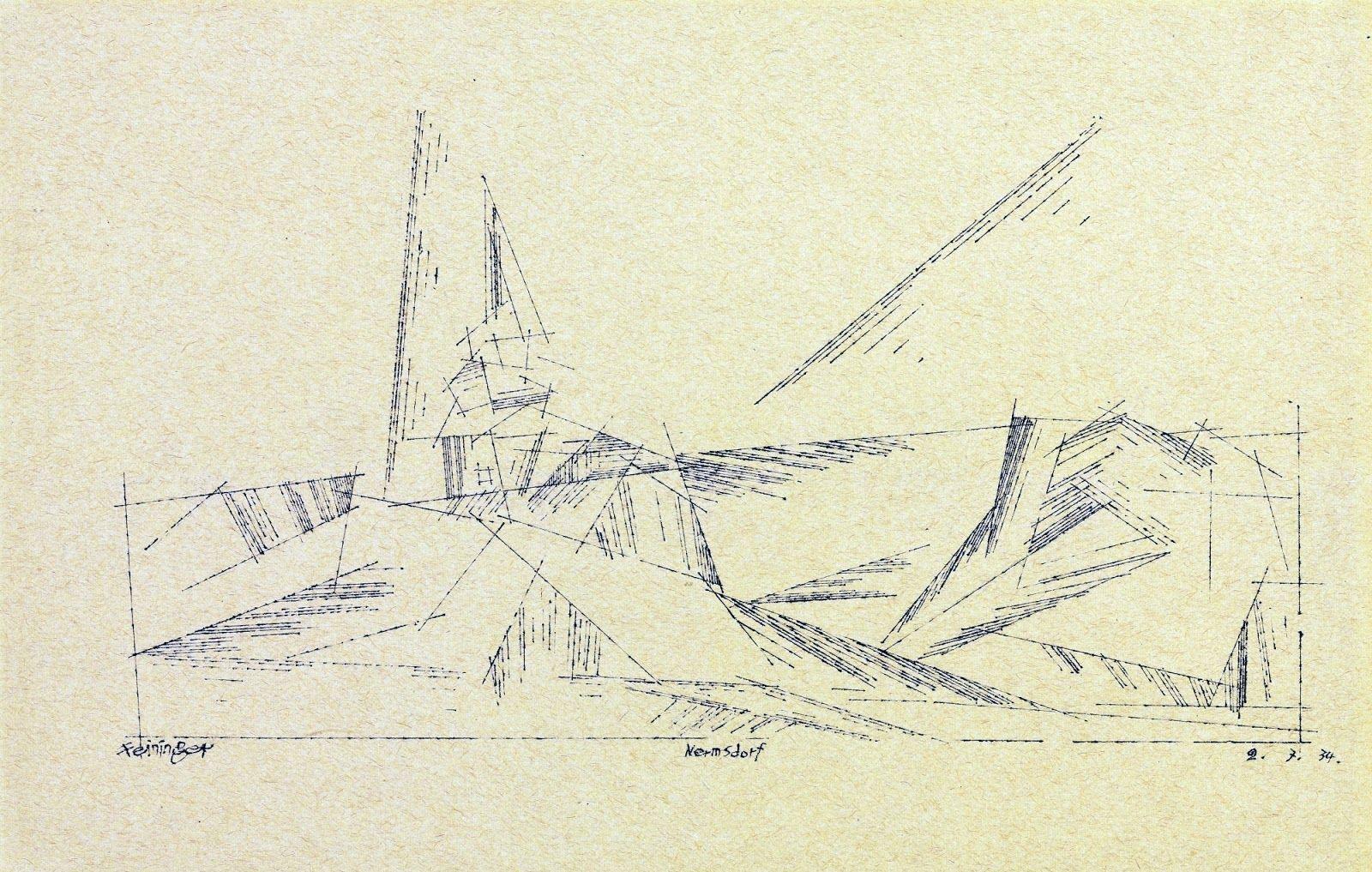 Lyonel Feininger ~ Cubist/Expressionist painter | Tutt'Art@ | Pittura * Scultura * Poesia * Musica |
