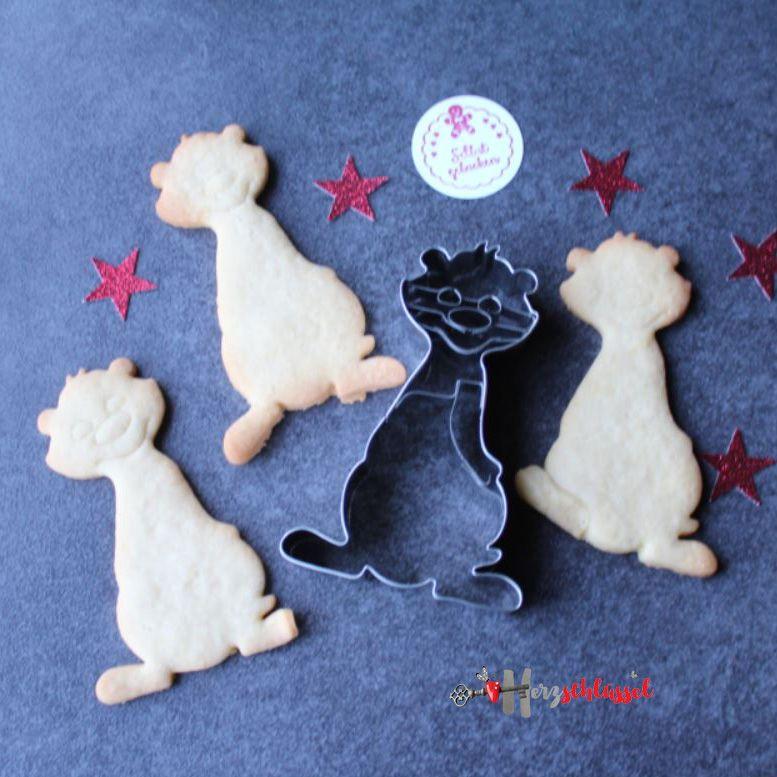 Herzschlüssel: Erdmännchen, Kekse, Plätzchen, Rezept, #DIY ...