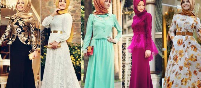 Gambar Model Gaun Pesta Muslim Terbaru Hijab Busanamuslim Hijabi