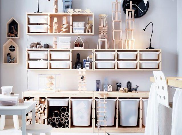 25 meubles de rangement pratiques pour la chambre d'enfant - Elle Décoration   Chambre enfant ...