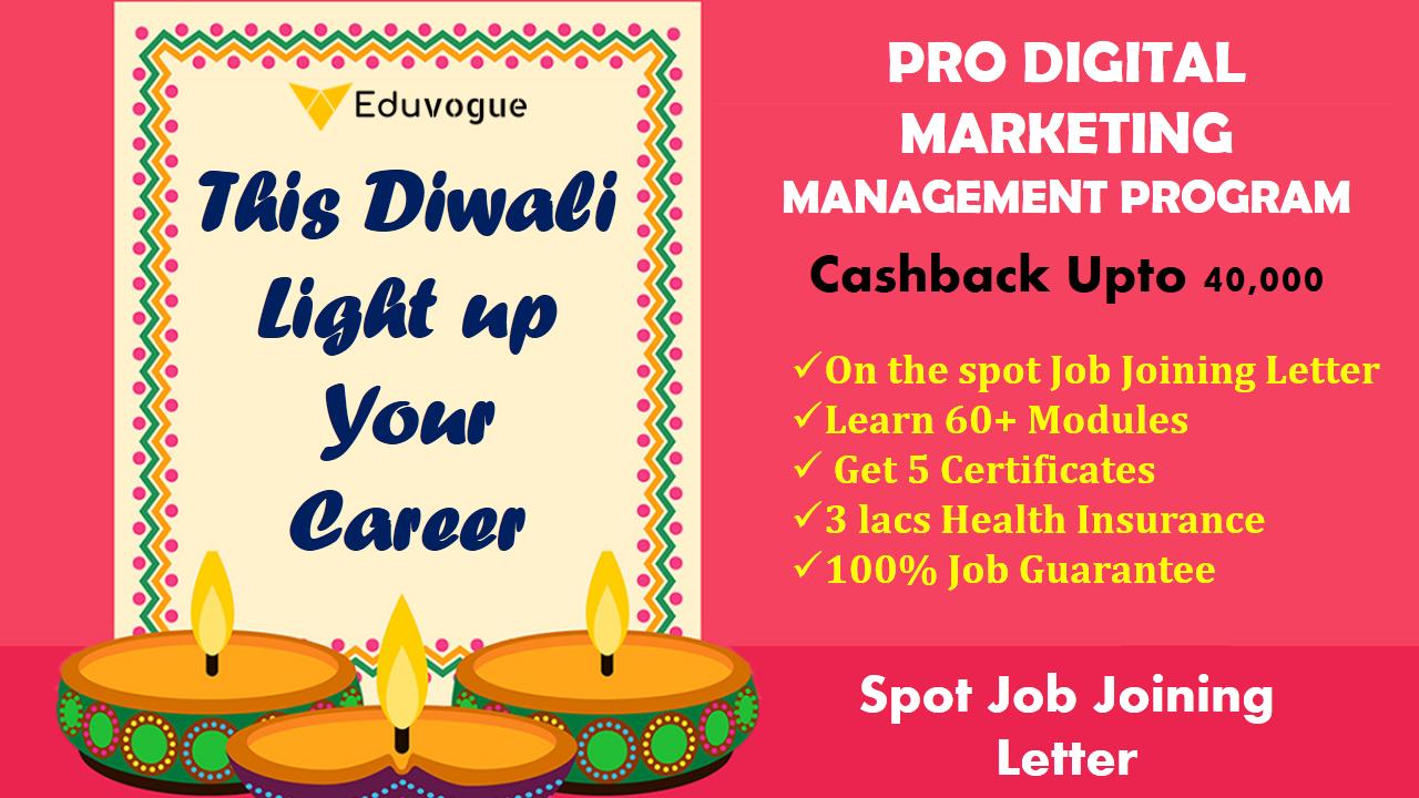 This Diwali Light up Your Career Digital business card