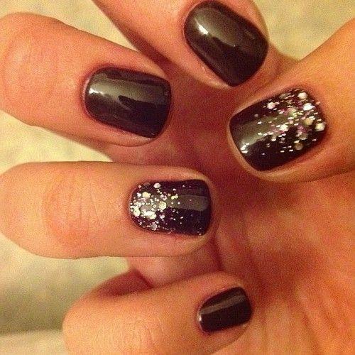 Shellac Nails And Glitter Shellacnails Naildesigns Nails Http