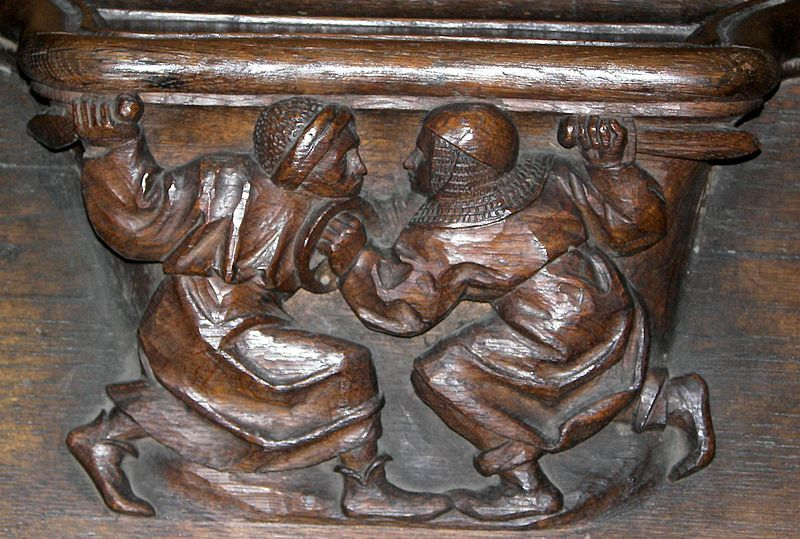 Misericord from St Etienne cathedral of Metz (France)