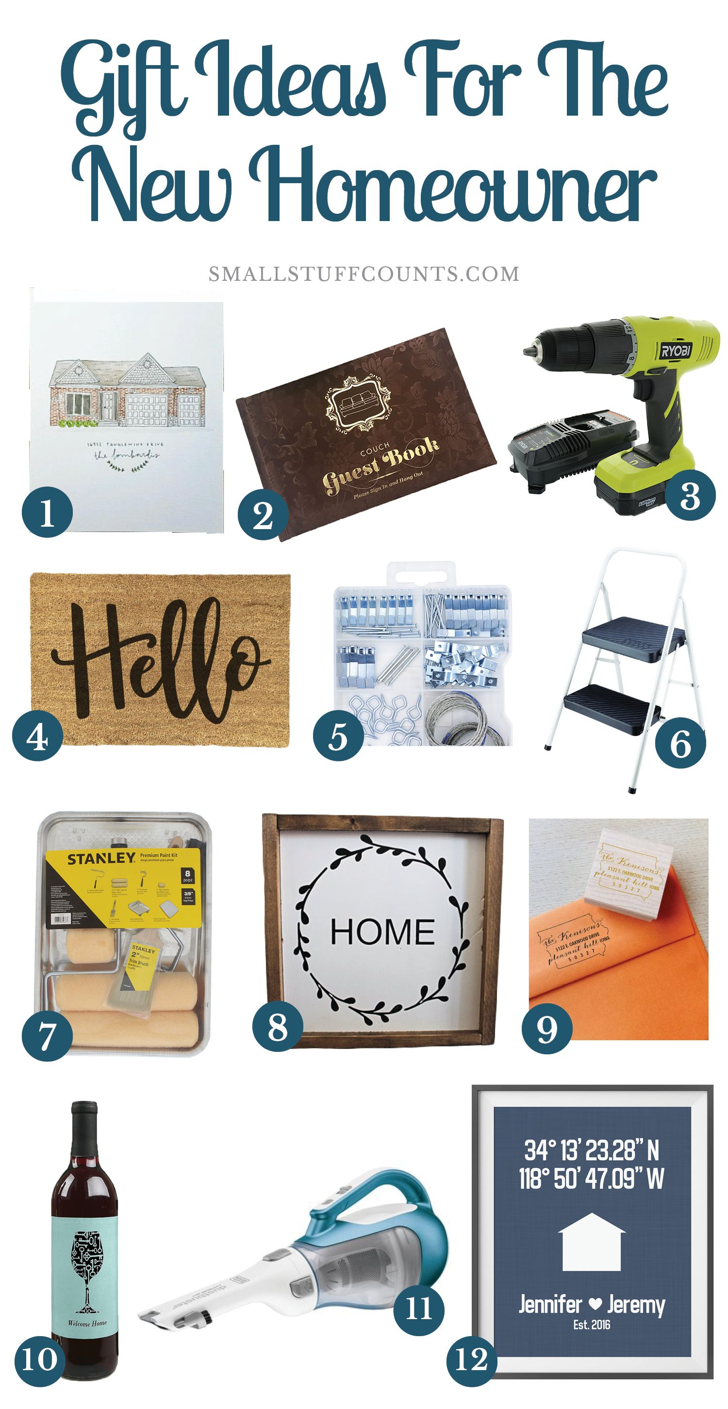 12 Gift Ideas For New Homeowners New Homeowner Gift New Homeowner New Home Gifts
