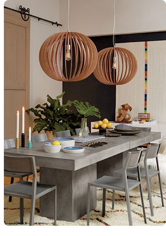 CB Concrete Dining Table Room To Room Pinterest Concrete - Cb2 concrete dining table