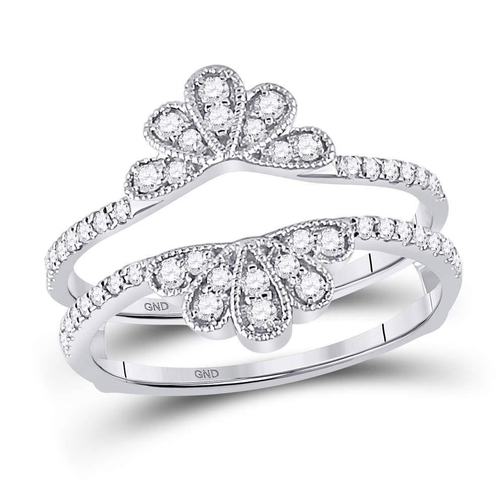 11+ Wedding ring guard white gold info