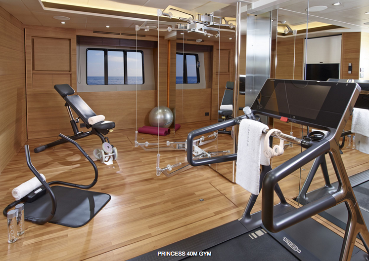 Motor Yacht Solaris Gym Cheap Interior Design Yacht Interior Design Yacht Interior