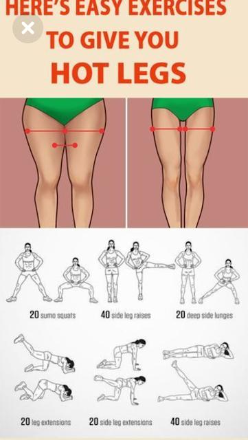HIER GIBT ES EINFACHE ÜBUNGEN ZU DEN HOT LEGS 2019 NEWS – Gesunder Lebensstil   – Fitness